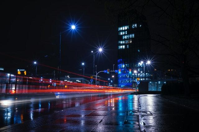sterowanie oświetleniem ulicznym